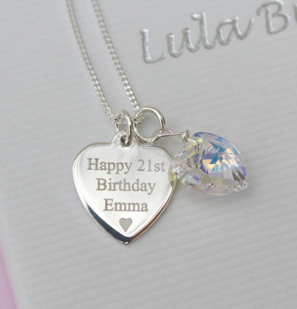 21st birthday gift - FREE ENGRAVING
